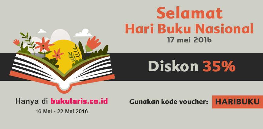 Hari Buku Nasional, Bukularis Diskon 35% Untuk Semua Buku!