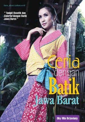 Buku Ceria dengan Batik Jawa Barat