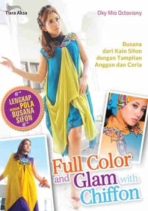 Buku Full Color and Glam with Chiffon