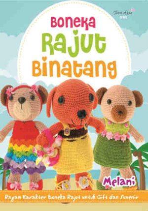 Buku Boneka Rajut Binatang