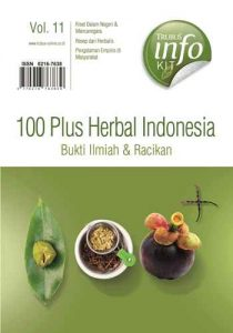 "Buku Info Kit ""100 Plus Herbal Indonesia Bukti Ilmiah Vol : 11"""