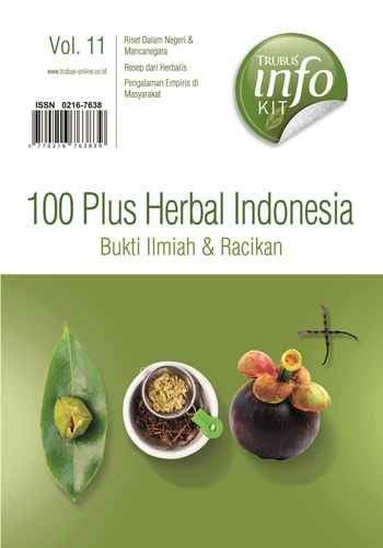 "Buku Info Kit ""100 Plus Herbal Indonesia Bukti Ilmiah Vol : 11"""