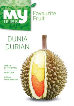 "Buku My Favourite Food ""Dunia Durian"""