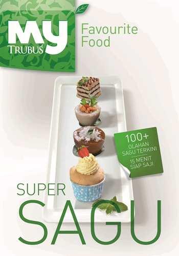 "Buku My Favourite Food ""Super Sagu"""