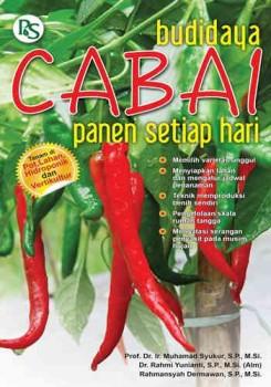 Buku BUDIDAYA CABAI PANEN SETIAP HARI