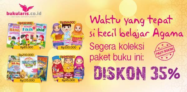 Paket Buku Anak Muslim, Diskon 35%