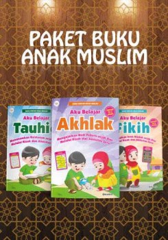 Paket buku anak muslim
