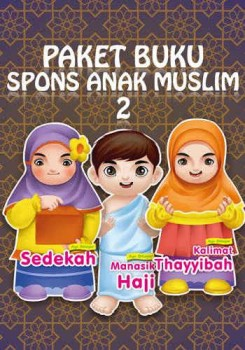 Paket buku spons anak muslim 2