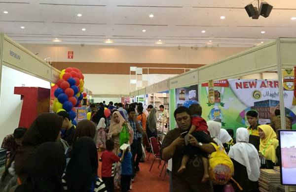 Lebih dari 300 Penerbit Meriahkan Islamic Book Fair 2017