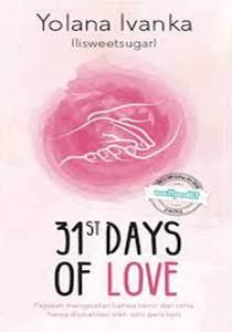 Buku Novel 31st Days of Love