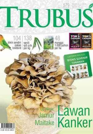 majalah trubus edisi februari 2018